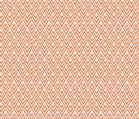 modern prairie triangles fabric by alison_janssen on Spoonflower - custom fabric