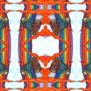 Love peace & Conga rainbow