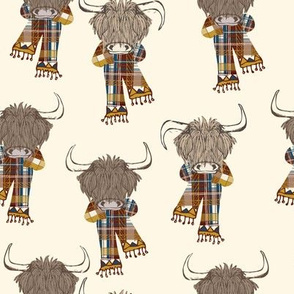Highland Happy Cattle Autumn-02
