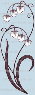 Snow Orchid Blue-B #C7DBE7