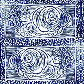 CloudSong Orig Blockprint-mirrored-Indigo ink