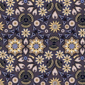 Victorian Wallpaper (Brown)