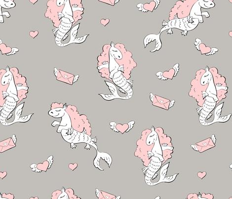 unicors_pattern5 fabric by yuliya_art on Spoonflower - custom fabric