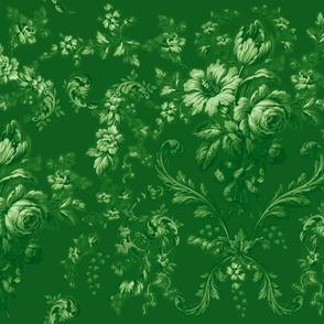 Faded Rococo deep basil