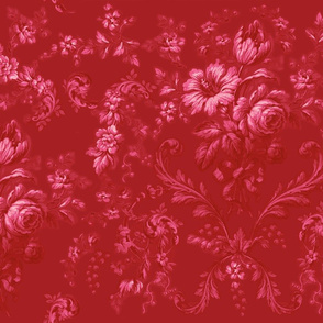 Faded Rococo deep strawberry