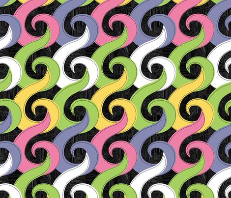 Aretha fabric by beckarahn on Spoonflower - custom fabric
