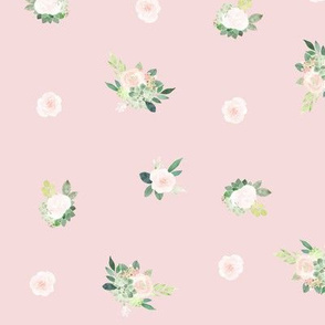 Pink Roses and Succulents // Cinderella Pink