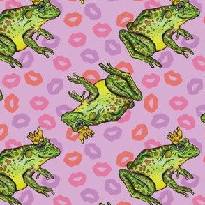 Frog Prince on Purple