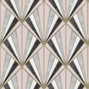 Art Deco Pastel Kaleidoscope