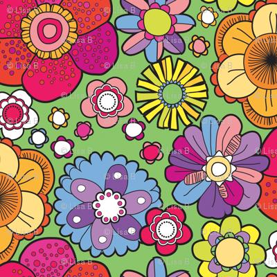 1960s floral