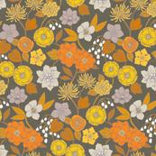 Botanical Blooms {Gold/Grey}