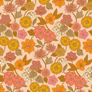 Botanical Blooms {Gold/Petal}