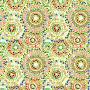 beads flower power - celeste