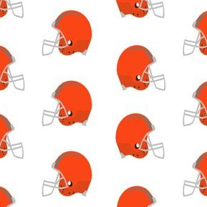 football helmet - orange football helmet - sport, sports, football