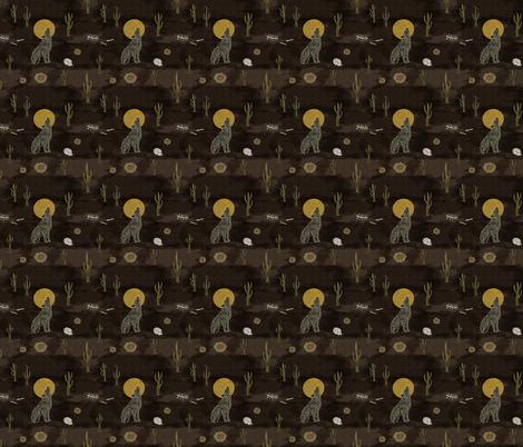 Desolation Desert fabric by inkysunshine on Spoonflower - custom fabric
