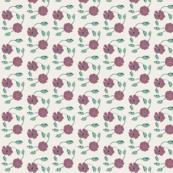 Spring Flowers - Mauve