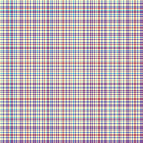 Lena: Small Plaid Subdued fabric by tallulahdahling on Spoonflower - custom fabric