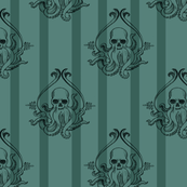 Simple Cthulhu Green Stripe