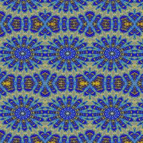 Blue Arrow Kaleidoscope