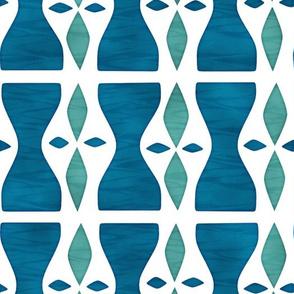 Hourglass Blue