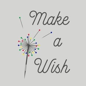 Make a Wish - Grey