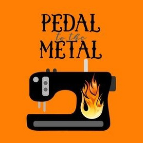 Pedal to the Metal - Orange