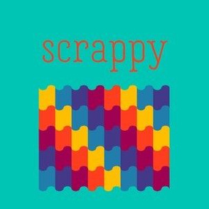 Scrappy Turquoise