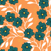Wild Vines { tangerine }