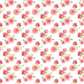 Summer Large flowers Pattern