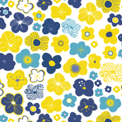 Flower-power-in-yellow-and-blue