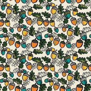 Autumn acorns small