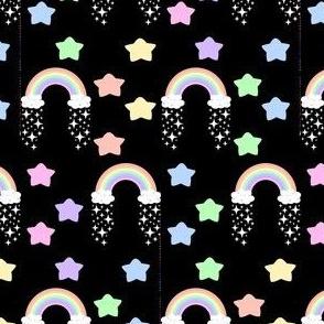 rainbow star and star 1