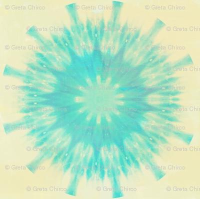 Bursting Blue