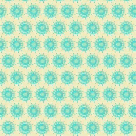Bursting Blue fabric by sowgoodgreta on Spoonflower - custom fabric