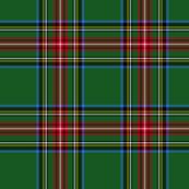 "King George VI / Green Stewart tartan,  8"" modern"