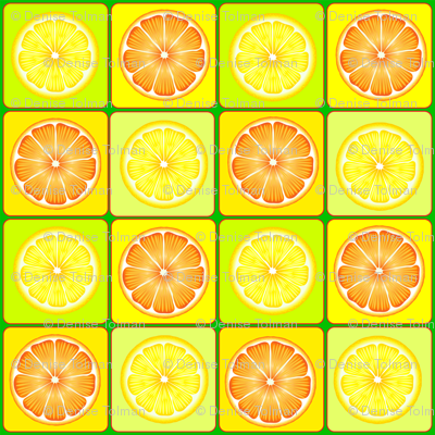 Oranges and Lemons Tiles