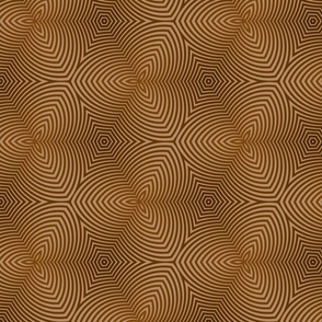 Psychedelic brown lines