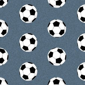 soccer ball paynes grey fabric - soccer, sports, ball,