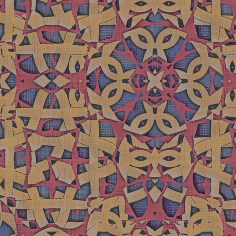 Celtic Loyalty (Aged) fabric by david_kent_collections on Spoonflower - custom fabric