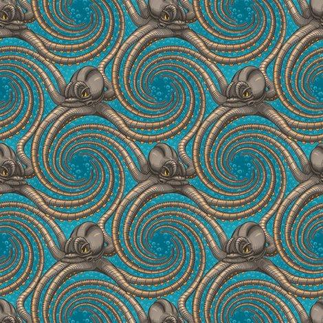 Rrteal-kraken-spiral-tentacles-steampunk-octopus-fabric-wallpaper-by-borderlines-original-and-rock-n-roll-textile-design_shop_preview