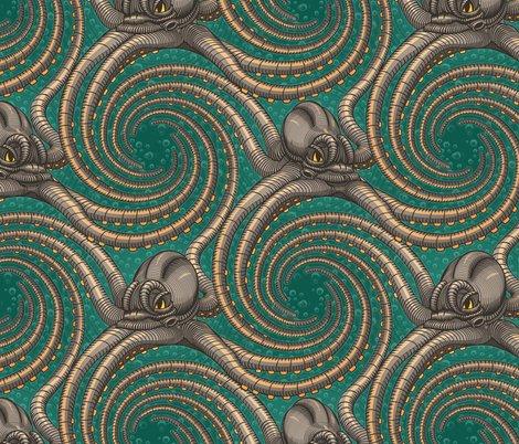Rrgreen-kraken-spiral-tentacles-steampunk-octopus-fabric-wallpaper-by-borderlines-original-and-rock-n-roll-textile-design_shop_preview