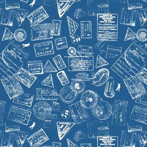Dr. Z Internationale 60s Blue LG