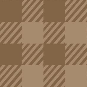 Browns tan plaid