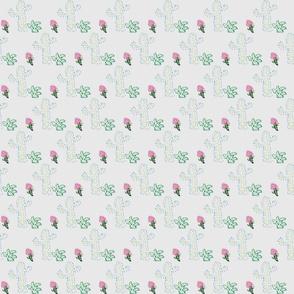 Happy cactus _ flower