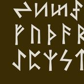 Eder Futhark Runes - Large