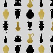 Vintage vase collection Silver