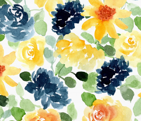 CapeCod-Large fabric by elizabethstjohn on Spoonflower - custom fabric