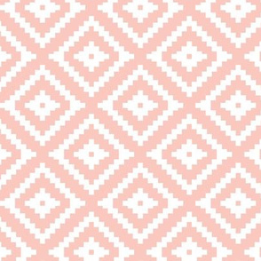 (small scale) Aztec // pink C18BS