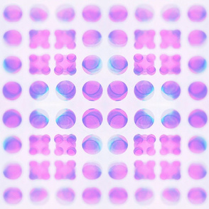 Pastel Dots over Dots