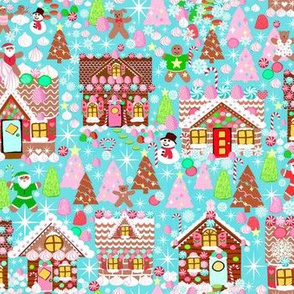 Holiday Gingerbread House // Christmas